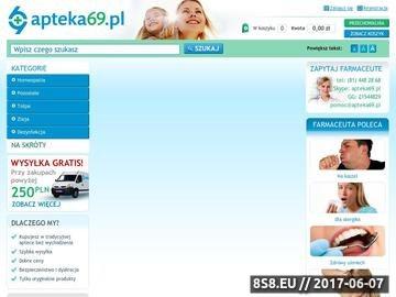 Zrzut strony Apteka on-line