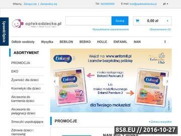 Zrzut strony Produkty dla dzieci w tym mleka, kaszki, pieluszki i więcej