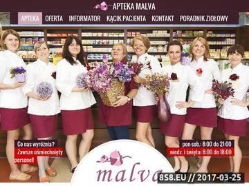 Zrzut strony Apteka MALVA zioła