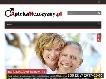 Zrzut strony Informacje dotyczące leczenia impotencji