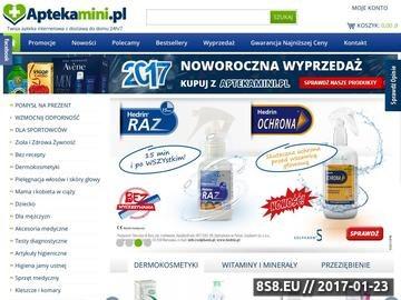 Zrzut strony Apteka Mini - sklep internetowy