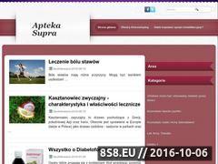 Miniaturka domeny www.aptekasupra.pl