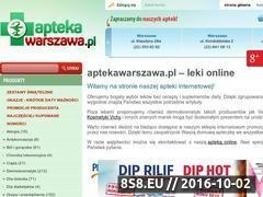 Miniaturka domeny www.aptekawarszawa.pl