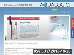 Miniaturka domeny www.aqua-logic.pl