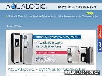 Zrzut strony Dystrybutor z wodą gazowaną Śląsk