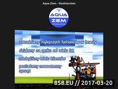 Miniaturka domeny aqua-ziem.pl