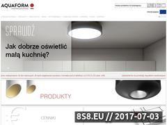 Miniaturka domeny www.aquaform.pl