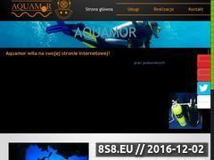 Miniaturka domeny aquamor.com.pl
