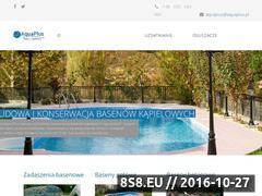 Miniaturka domeny aquaplus.pl