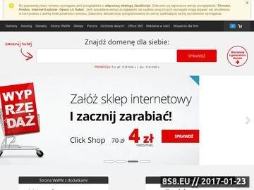 Zrzut strony Język rosyjski dla firm