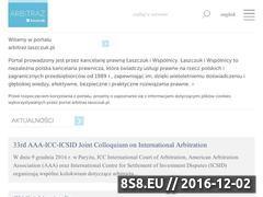 Miniaturka domeny arbitraz.laszczuk.pl