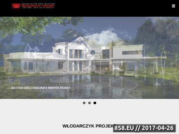 Zrzut strony Projekty rezydencji, nowoczesne domy i wille - Architekt Włodarczyk