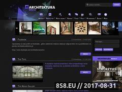 Miniaturka domeny www.architekturawnetrz.pl