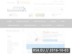 Miniaturka domeny arenalazienek.pl