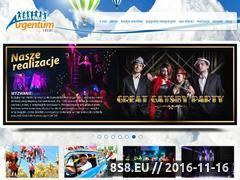 Miniaturka domeny argentum-event.pl