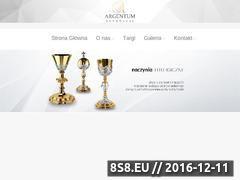 Miniaturka domeny www.argentum-renowacje.pl