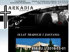 Miniaturka domeny www.arkadia.szczecin.pl