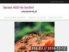 Miniaturka domeny www.arkadiadruk.pl