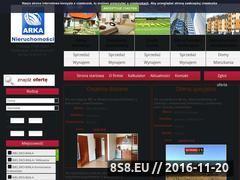 Miniaturka domeny arkanieruchomosci.com.pl