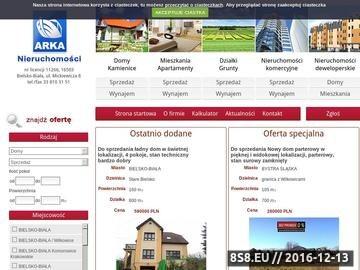 Zrzut strony Nieruchomości Bielsko-Biała