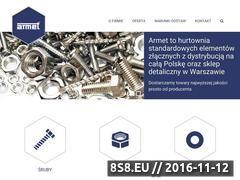 Miniaturka domeny www.armet.pl