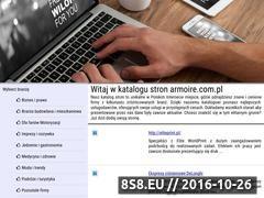 Miniaturka domeny www.armoire.com.pl