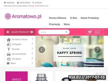 Zrzut strony Produkty do aromaterapii