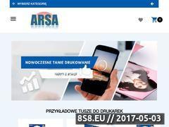 Miniaturka domeny arsa.pl