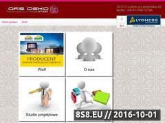 Miniaturka domeny www.arsdeko.pl