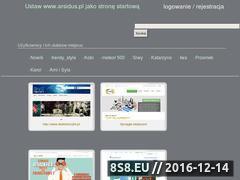 Miniaturka domeny www.arsidus.pl