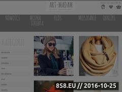Miniaturka domeny art-madam.pl