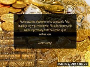 Zrzut strony Skup złota