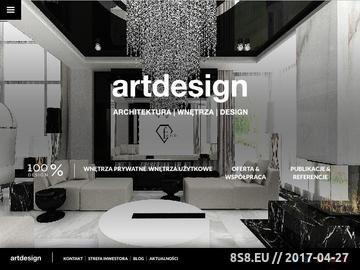 Zrzut strony Architektura wnętrz - Artdesign