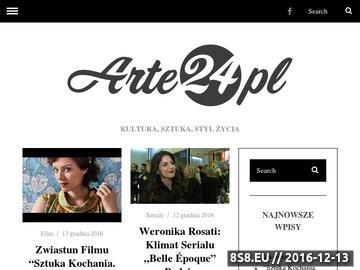Zrzut strony Portal internetowy