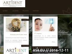 Miniaturka domeny www.artident.pl