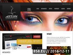 Miniaturka domeny www.artispa.pl