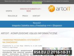 Miniaturka domeny www.artoit.pl