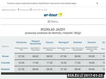 Zrzut strony Przewozy Holandia Szczecin