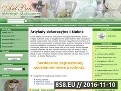 Miniaturka domeny www.artpakdekoracje.pl