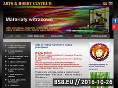 Miniaturka domeny www.artshobby.pl