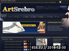 Miniaturka domeny www.artsrebro.pl
