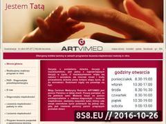 Miniaturka domeny www.artvimed.pl