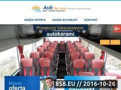 Miniaturka domeny www.asik.com.pl