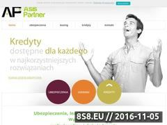 Miniaturka domeny www.asispartner.pl