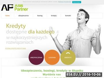 Zrzut strony Kredyty Słupsk