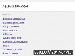 Miniaturka domeny www.asmaximum.com