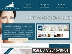 Miniaturka domeny www.aspazja.pl