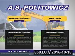 Miniaturka domeny www.aspolitowicz.pl