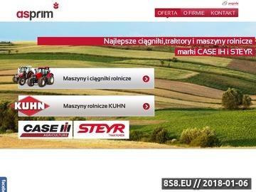 Zrzut strony Asprim - maszyny rolnicze