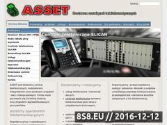 Miniaturka ASSET - centrale, telefony, mikrokamery, telefaksy (asset.com.pl)